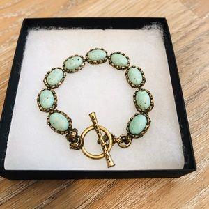 Lucky Brand Turquoise Stone Bracelet